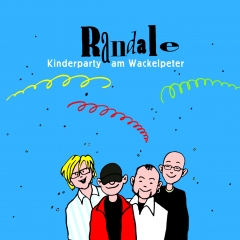 Kinderparty am Wackelpeter von Randale | CD-Cover