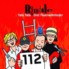 Tatü Tata - Feuerwehrlieder von Randale | CD-Cover