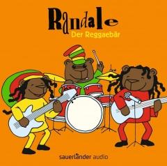 Cover der CD Der Reggaebär von der Kinderrockband Randale