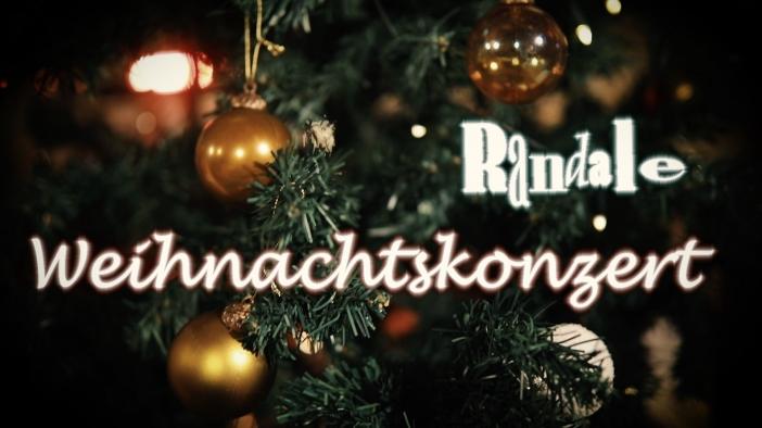Randale spielen ein Weihnachtskonzert auf Youtube
